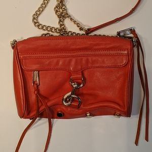 Rebecca Minkoff Red Leather Crossbody